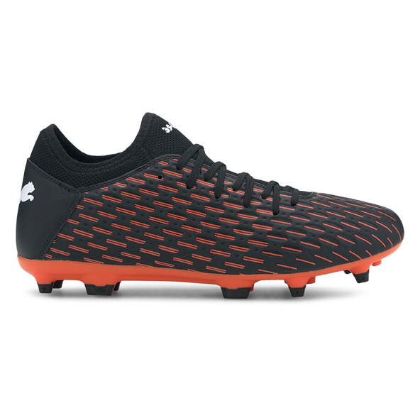 Puma Future 6.4 FG Football Boots Black/Orange