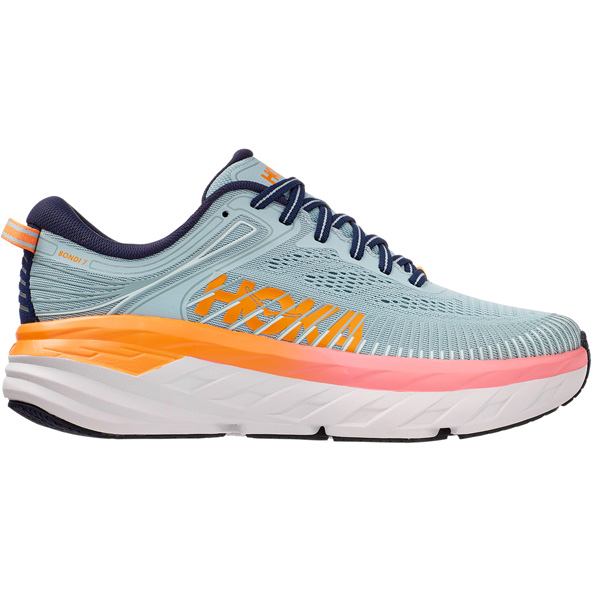 Hoka Bondi 7 Women's Running Shoe Blue