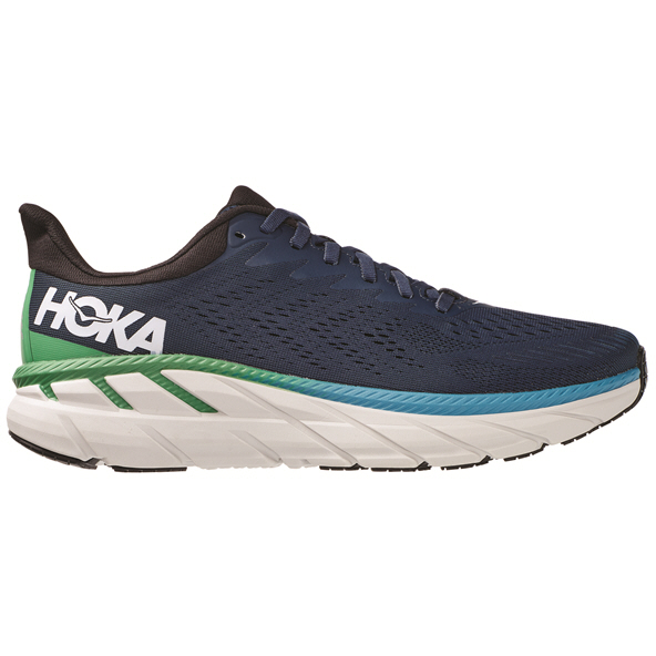 Hoka Clifton 7 Men's Running Shoe, Navy