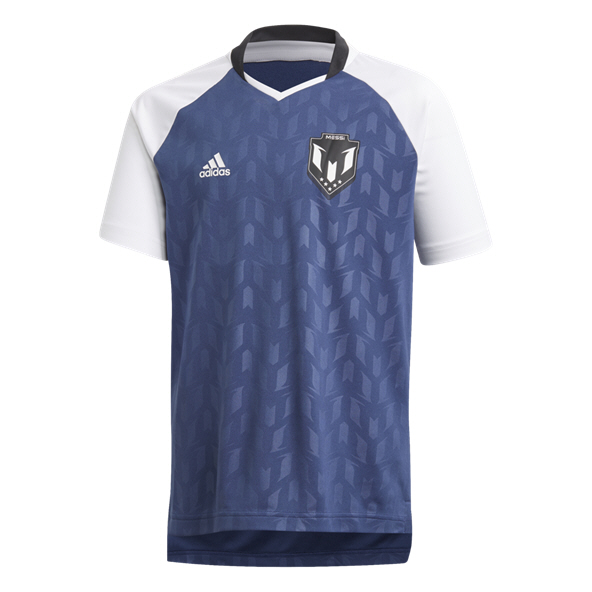 adidas Icon Messi Boys' Jersey, Indigo