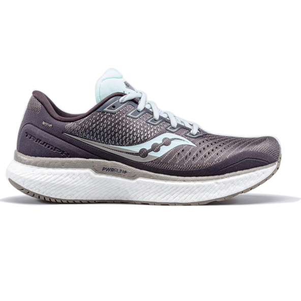 Saucony Triumph 18 Women's Running Shoe, Grey