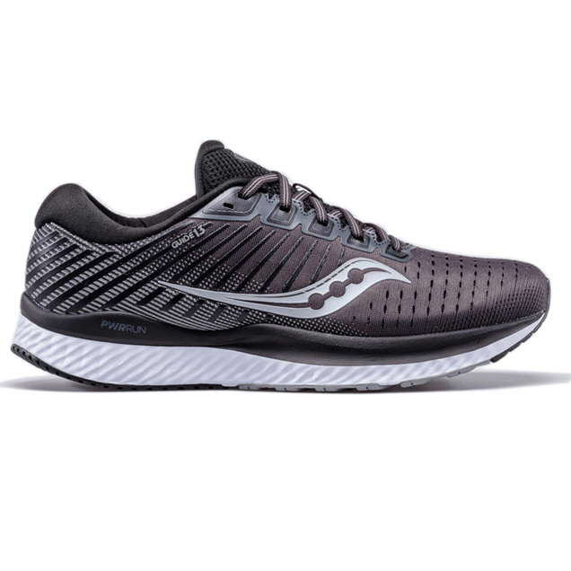 SAUCONY GUIDE 13 MEN'S RUNNING SHOE, BLACK