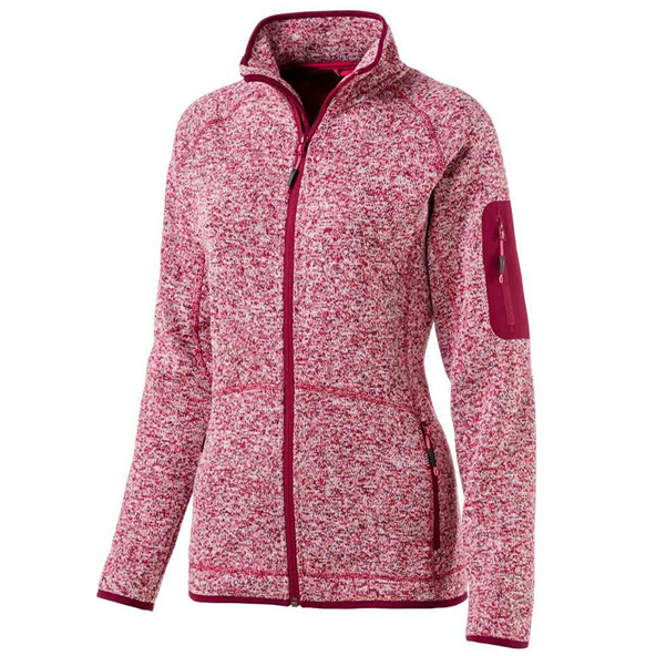 McKinley Skeena Women's Fleece Jacket Maroon
