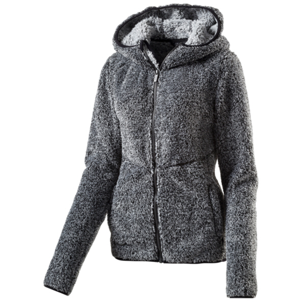 McKinley Lily Women's Fleece Jacket Black / Grey