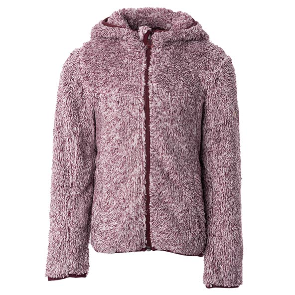 McKinley Gloria II Girls' Fleece Jacket Maroon