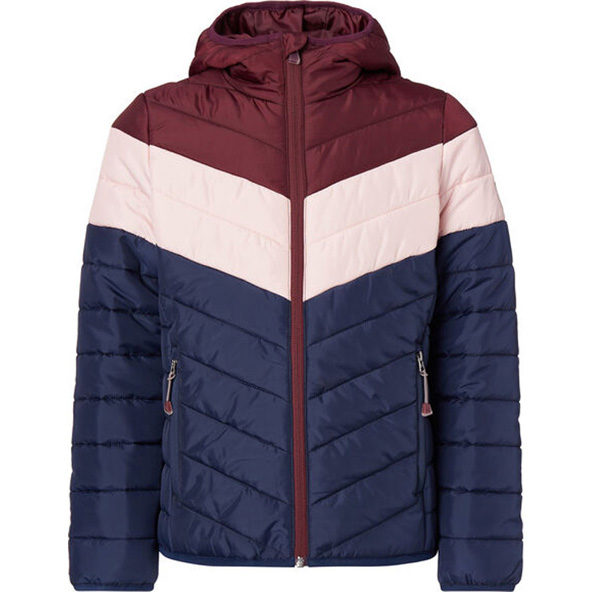 McKinley Ricos Girls' Padded Jacket Maroon