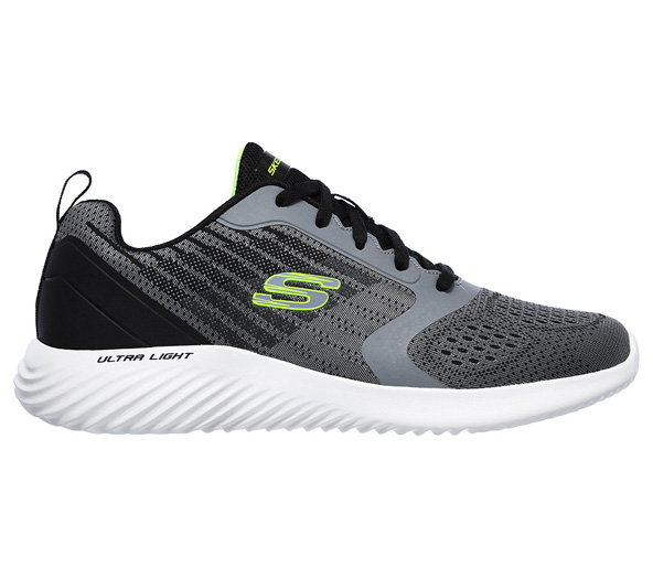 Skechers Bounder Men's Training Shoe Grey/Black