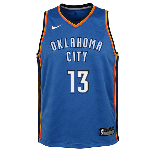 Nike Thunder George Kids  Jersey Blue