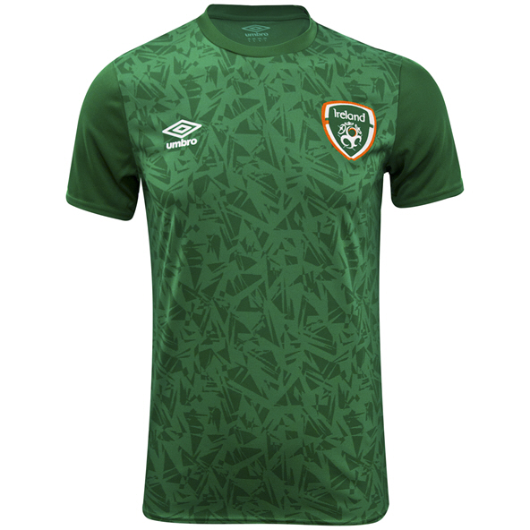 Umbro FAI 21 Warm Up Jersey Green