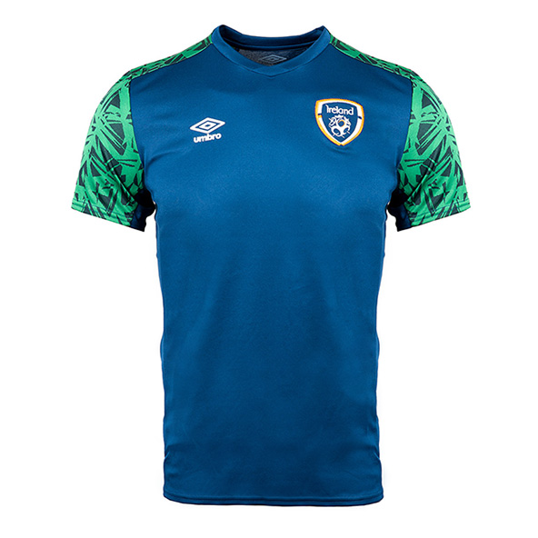 Umbro FAI 21 Training Jersey Navy/Green