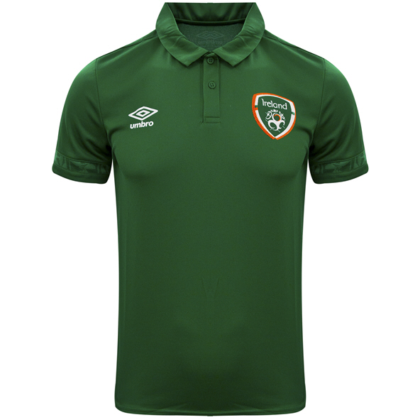 Umbro FAI 21 Poly Polo Pine Green