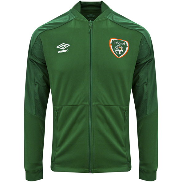 Umbro FAI 21 Anthem Jacket Kids Green