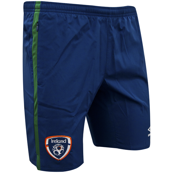 Umbro FAI Ireland 2021 Woven Kids' Short Navy