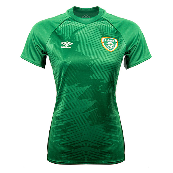 Umbro FAI 21 Womens Graphic Tee Green