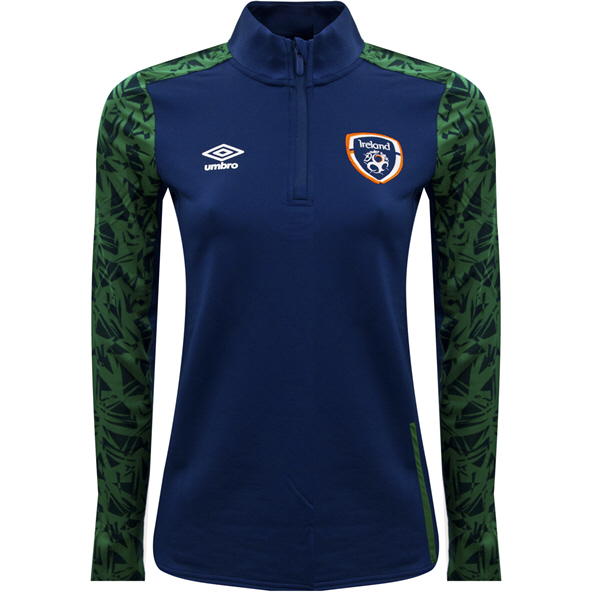 Umbro FAI 21 Womens QZ Top Navy
