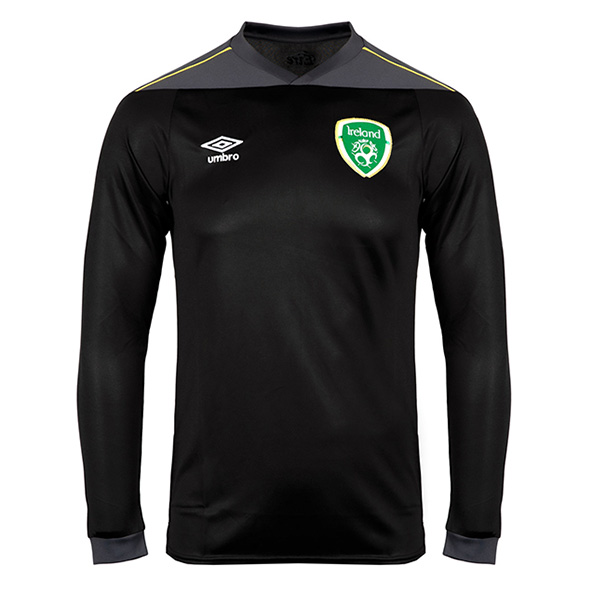 Umbro FAI GK 21 Kids Jersey Black