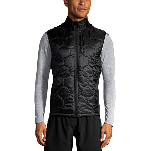 Brooks Shield Hybrid Men's Vest Black