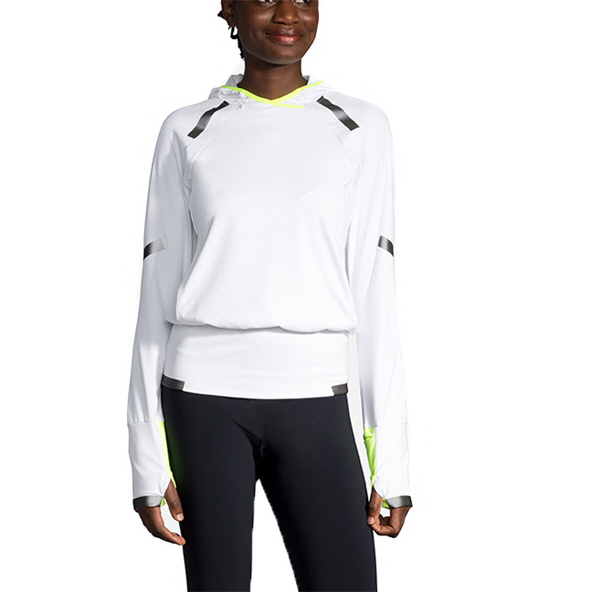 Brooks Carbonite Women's Hoody White
