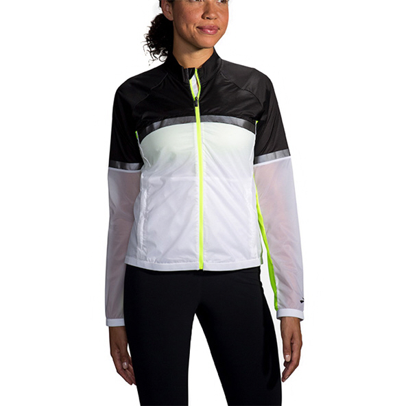 Brooks Carbonite Women's Jacket White
