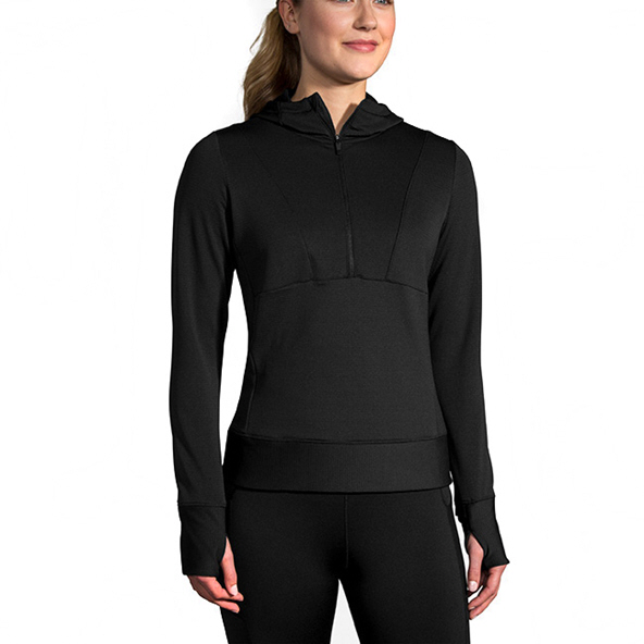 Brooks Notch Thermal Women's Hoody Black