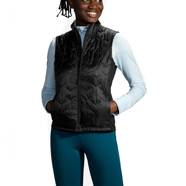 Brooks Shield Hybrid Women's Vest Black