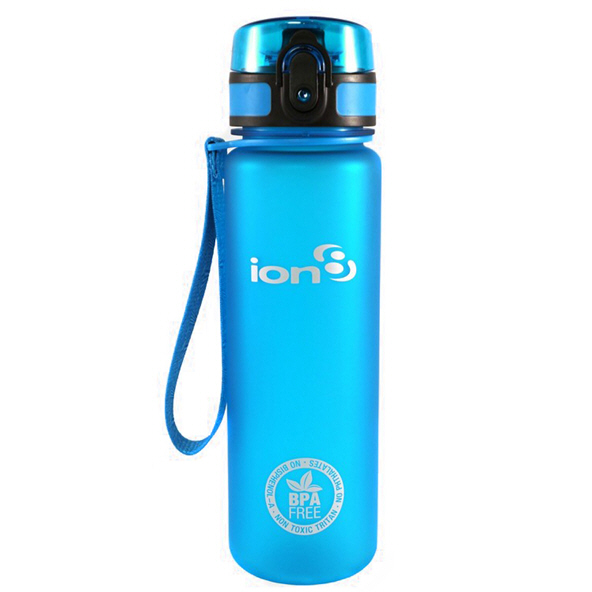 Ion8 Slim 500ml Water Bottle – Blue