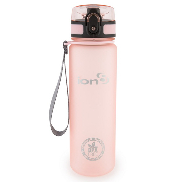 Ion8 Slim 500ml Water Bottle – Rose