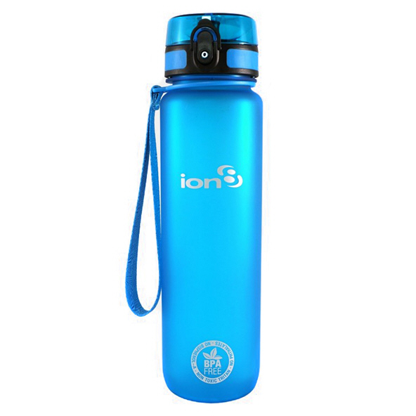 Ion8 Quench 1 Litre Water Bottle - Blue