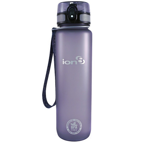 Ion8 Quench 1 Litre Water Bottle – Grey