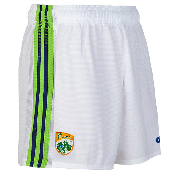 O'Neills Kerry 2020 Away Kids' Short, White