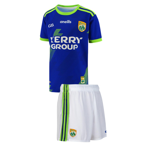 O'Neills Kerry 2020 Kids' Away Kit, Blue
