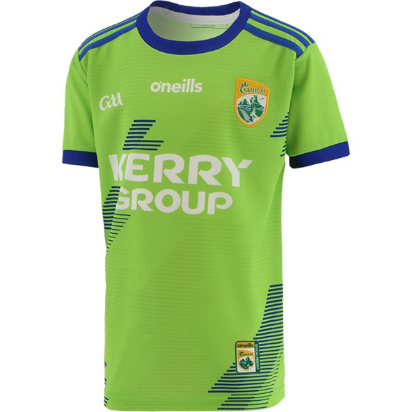 O'Neills Kerry 2020 Away Goalkeeper Kids' Jersey, Green
