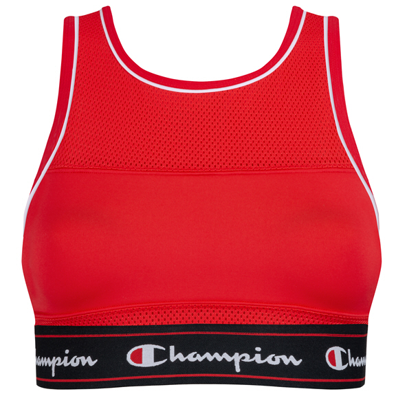 Champion Tank Fashion Bra Red