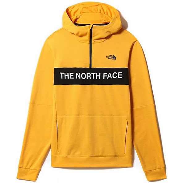 The North Face TNL Men's 1/4 Zip Hoody Yellow