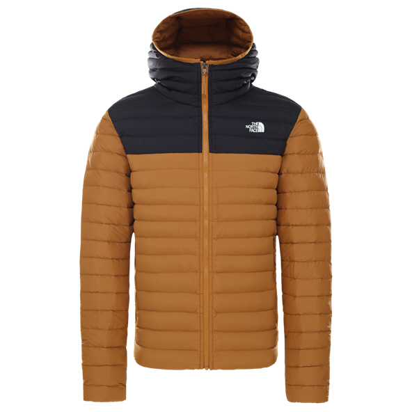 The North Face Stretch Men's Hooded Jacket Brown
