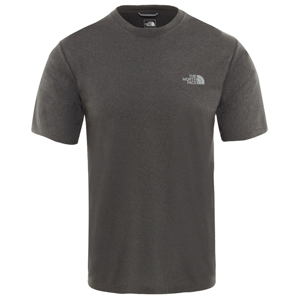 The North Face Reaxion Men's Crew T-Shirt Grey