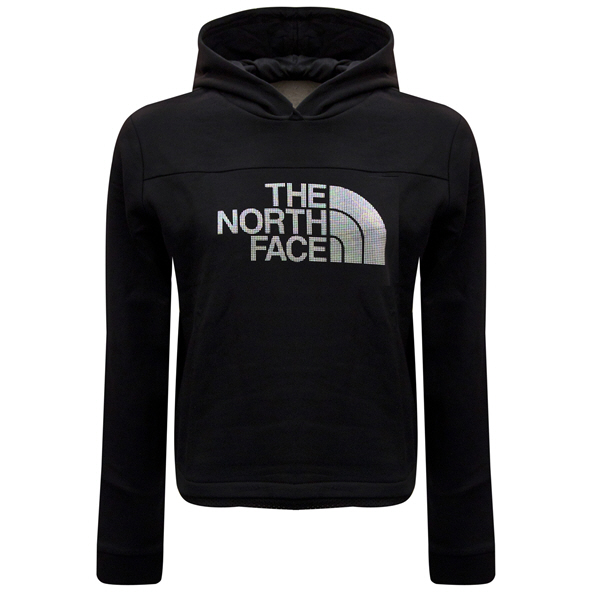 The North Face Cropped Girls' Hoody Black