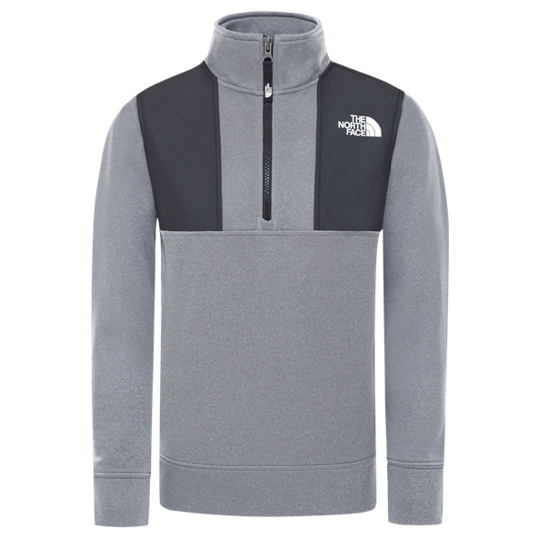 The North Face Surgent Boys Halfzip Grey