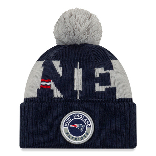 New Era New England Patriots Beanie Navy