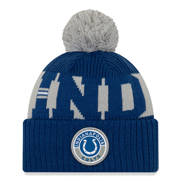 New Era Indianapolis Colts Beanie Blue