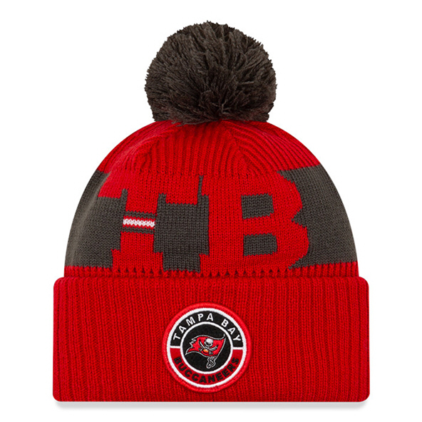 New Era Tampa Bay Buccaneers Beanie Red