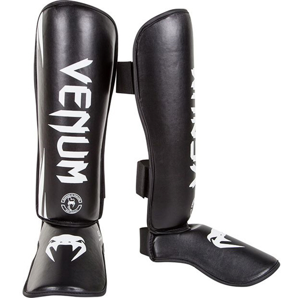 Venum Challenger Shinguards Black/White