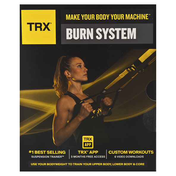 TRX® Burn Suspension Training Kit, Black