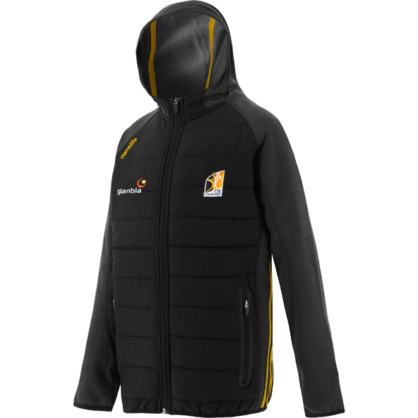 O'Neills Kilkenny Portland Kids' Hooded Jacket, Black