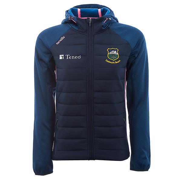 O'Neills Tipperary Portland Girls' Hooded Jacket, Navy