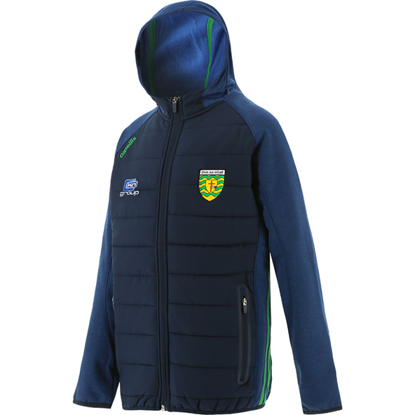 O'Neills Donegal Portland Kids' Hooded Jacket, Navy