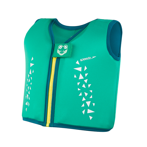 Speedo Croc Printed Float Vest, Green