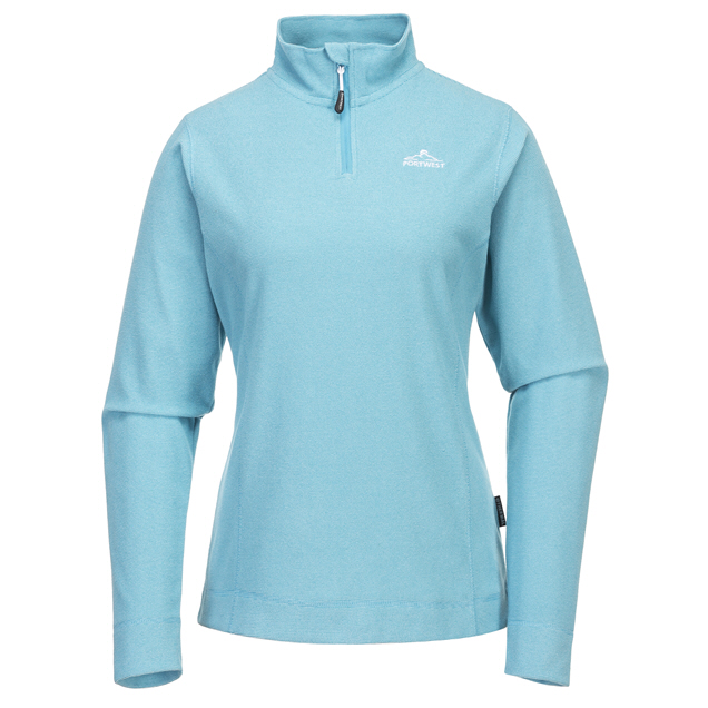 Portwest Clara Women's Micro Fleece, Blue