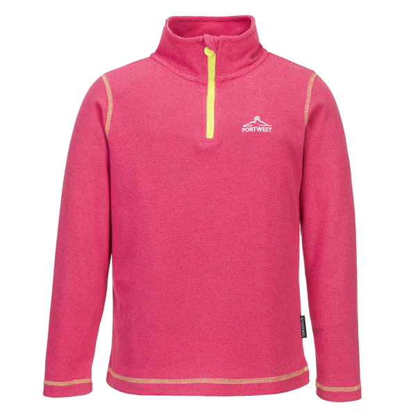 Portwest Girls Doonbeg Fleece Pink