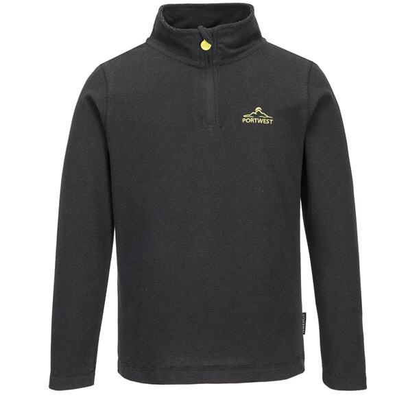 Portwest Boys Doonbeg Fleece Grey